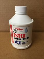 Genuine A/C PRO Auto Air Conditioning R134a Ester 100 Refrigerant Oil With Ice32
