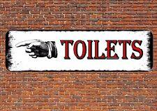 Toilet Sign Ladies & Gents Toilet Rest Room Sign Bathroom Sign Toilet Door Sign
