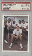 1991 Upper Deck Brett Favre Moe Gardner Erric Pegram Bruce Pickens PSA 10 Rookie