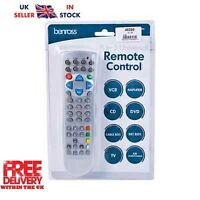 8 IN 1 UNIVERSAL REMOTE CONTROL TV DVD SATELLITE VCR CABLE CD PLAYER NEW