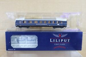 LILIPUT L383501 DB BLUE RHEINGOLD 1st 2nd 3rd EXPRESS COACH 214032 BOXED nt