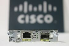 Cisco EHWIC-1GE-SFP-CU 1-Port Gigabit Ethernet Enhanced Network Card