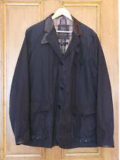 Mens Barbour DeptB Commander Beacon Sport Skyfall navy wax smart jacket XL Large