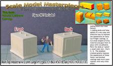 Commercial/Rooftop A/C Unit #1-Large(1pc) Scale Model Masterpieces HO/HOn3/1;87