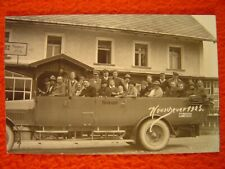 KARLSBERG-HEUSCHEUER=KARŁÓW - VOMAG-Cabrioletbus der REICHSPOST - 1 Foto um 1925
