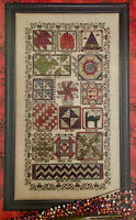 Halloween Quilt Sampler Rosewood Manor Cross Stitch Pattern w/Charm