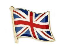 UNION JACK FLAG ENAMEL PIN BADGE UNITED KINGDOM GB BRAND NEW FREE POST