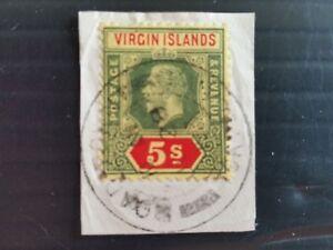 BRITISH VIRGIN ISLANDS 1913 SG 77 DEFINITIVE SUPERB FINE USED