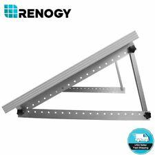 Renogy Solar Panel Tilt Mount Bracket RV Roof Flat Surface Aluminum Mounting Set