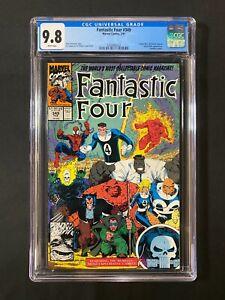 Fantastic Four #349 CGC 9.8 (1991) - Spider-Man, Wolverine, Hulk app