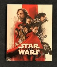 Star Wars:Episode VIII-The Last Jedi Target Excl Artwork Blu-ray Slipcover Only