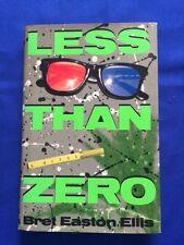 LESS THAN ZERO - FIRST EDITION BY BRET EASTON ELLIS