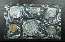 1972 Panama Official Proof Set 6 Coins Mint Packaging