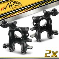 2x Rear Left & Right Steering Knuckle for Toyota RAV4 Lexus NX200t NX300 06-19