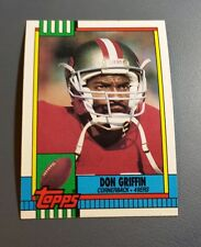 DON GRIFFIN 1990 TOPPS FOOTBALL CARD # 25 B8344