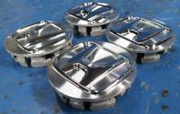 SET OF (4) Genuine OEM Honda Wheel Center Cap Aluminum Chrome 44732-T2A-A41