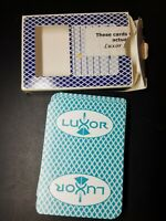 Luxor Hotel Casino Bee Playing Cards Las Vegas Used in Actual Play 1 deck
