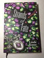 "Annie's Creative Woman Mysteries Hardcover ""Strands of Fate"" Linda Kozar"