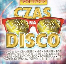 = CZAS na DISCO POLO vol.2 [2 CD] Sealed from Poland / /disco polo & dance