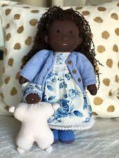 Handmade Waldorf Doll with Baby Doll