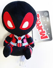 Marvel Collector Corps Exclusive Inverse Black Deadpool Mopeez Plush Doll NWT