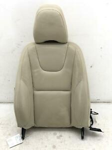 2012-2013 VOLVO S60 RIGHT FRONT SEAT UPPER CUSHION W/ AIRBAG TAN LEATHER OEM