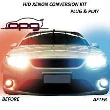 PLUG & GO XENON HID 6000K H9 HIGH BEAM LAMPS CONVERSION VE SERIES 1 & 2 SS SSV S