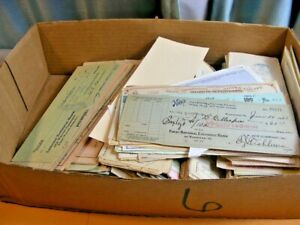 US, Excellent accumulation of 550+ Checks, some with Revenue Stamps