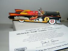 "Matchbox 1:43 Michelob ""Golf"" Caddy 1959 Cadillac DYM37597 w/COA & Boxes"