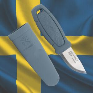MORA ELDRIS Stainless Steel by MORAKNIV Bushcraft Scout Mora Knives (Dust Blue)