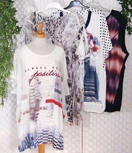GINA LAURA LIBERTY YESTA - SET 4 Teile XXL + Oversize BUNT Shirt Tunika Top 😃