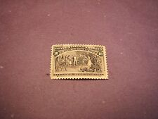 US Stamp Scott# 237  Columbus  Presenting Natives 1893 MH  C249
