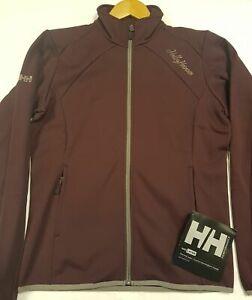 Womens Ladies Girls Helly Hansen Verglass W Jacket Coat Large Wine colour