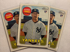 2018 Topps Heritage #603 Gleyber Torres rookie RC card New York Yankees All 3