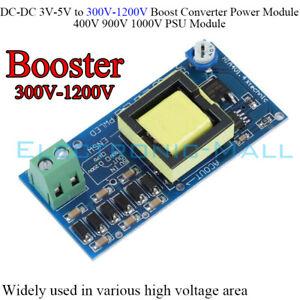 DCDC 3V-5V to 300V-1200V 400V 900V 1000V PSU Module Boost Converter Power Module