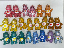 Huge Lot Of Vintage Posable Care Bears Figures