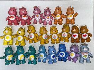 Huge Lot Of Vintage Posable Care Bears Figures