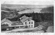 Zichenhausbaude bei Bad Reinerz Schlesien Postkarte 1929