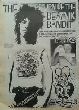 ED ROTH BEATNIK BANDIT ORIGINAL POSTER SIZE ADVERT 21 AUG 1982
