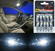 LED 3030 Light White 5000K 194 Ten Bulbs License Plate Tag Replace OE Philips