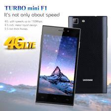 Unlocked DOOGEE TURBO Mini F1 4G Android Smartphone Quad Core 8G Mobile Phone HD