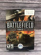 Battlefield 1942 PC CD-ROM 2-Disc Set w/ Manual & Key Code