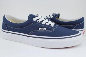 Vans Era - Navy Blue/White - Canvas Shoes - Authentic - VN000EWZNVY - Men/Women