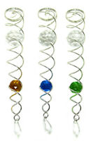 WorldaWhirl Wind Spinner Stabilizer Crystal Ball Spiral Cyclone Tail Twister
