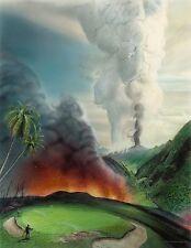 No. 8 Mauna Pele Country Club Hand Signed BY LOYAL H. CHAPMAN