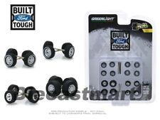 GreenLight 1:64 Body Shop Wheel & Tire Packs Series 1 Ford Trucks 16010B New