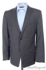 ERMENEGILDO ZEGNA Z Gray Woven 100% Wool Mens Blazer Sport Coat Jacket - 38 S/R