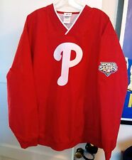 Majestic XL 2009 World Series Philadelphia Phillies Warm Up Pull Over