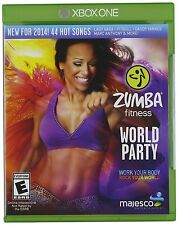 Zumba Fitness World Party for XBOX ONE X1 System Brand New Factory Sealed !