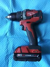 Milwaukee M18 Compact Brushless 1/2 inch Drill Bare Tool - 2801-20 used